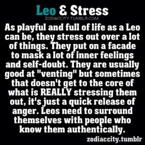zodiac #sign #Leo & #stress #astrology #zodiaccity @insanya @puzu