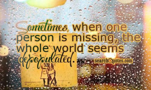 Missing Home Quotes And Sayings Cute missing you quotes &