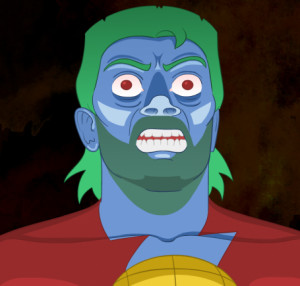 Captain Planet Rampage | Funny Pictures and Quotes