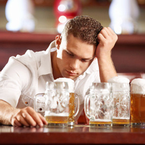 ... four to five or more alcoholic beverages is defined as binge drinking