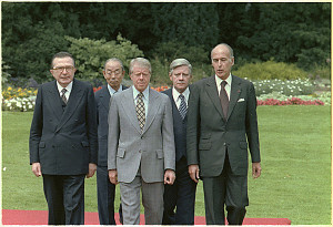 1978 G7 leaders (first from left)