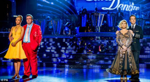 Former Bond girl Fiona Fullerton is voted off Strictly Come Dancing ...