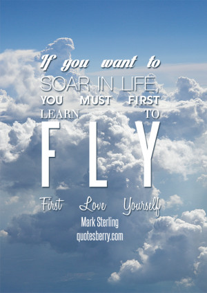 ... soar in life, you must learn to... - Quotes Berry : Photo Quotes Blog