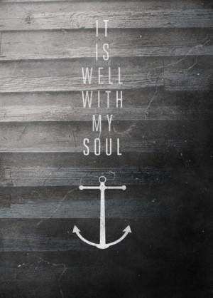 Anchor Black And White Cute