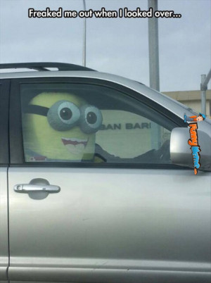 Funny Meme – Minion driver