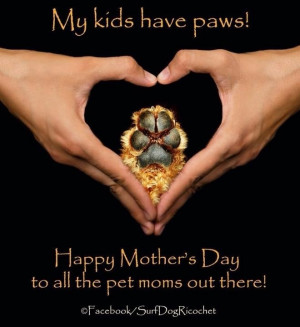 Happy mother's day to dog moms!!