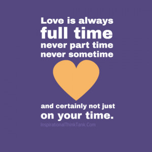 images of quotes about time and love