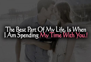 The best part Of my life