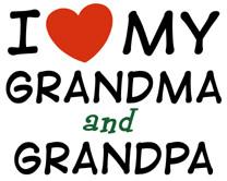 Happy Grandparents Day : I Love My Grandma and Grandpa