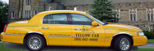 RDU Yellow Taxi Flat Rates Page