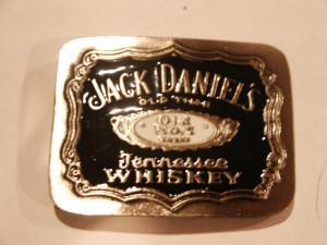Jack Daniels Whisky Buckle Image