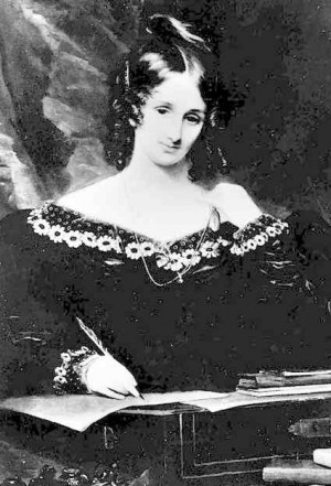 ... Mary Wollstonecraft Shelley, lived a very interesting and tragic life