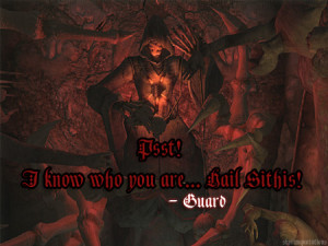 Psst! I know who you are… Hail Sithis![Submitted by ...