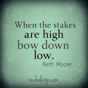 Nik Wallenda #skywire last night reminded me of this Beth Moore quote ...