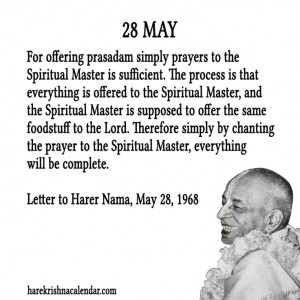 Srila Prabhupada Quotes For Month May 28