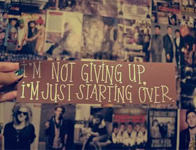 Giving Up Quotes & Sayings