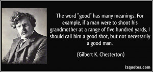 More Gilbert K. Chesterton Quotes