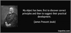 More James Prescott Joule Quotes