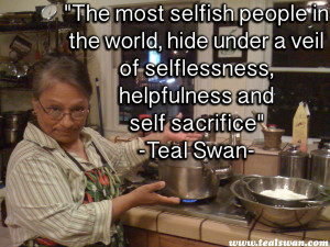 Selfishness Quote
