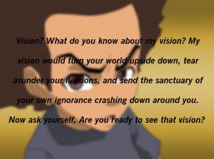 Verwandte Suchanfragen zu Huey freeman quotes my vision