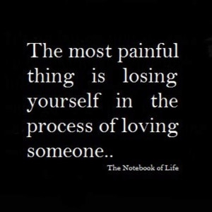 losing yourself