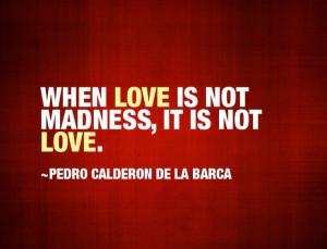 Pedro Calderon de la Barca - Love