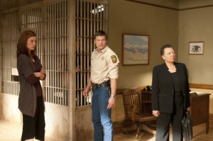 Still of Bailey Chase and Cassidy Freeman in Longmire (2012)