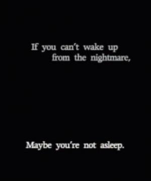 need to wake up!