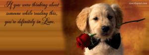 Facebook Cover Photos Dog Quotes