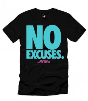 No Excuses Nike No excuses