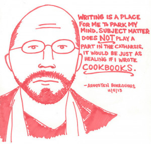 Last Night's Reading: Awesome Author Quote Illustrations (IMAGES)