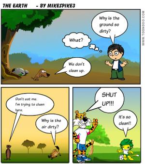 Funny Earth Day Cartoons