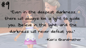 Even in the deepest darkness, there will always be a light to guide ...