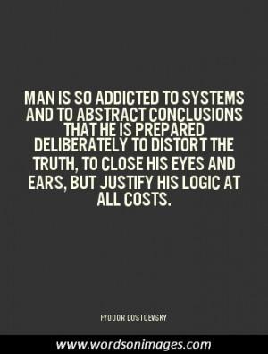 Dostoevsky quotes...
