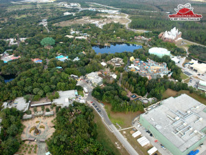 Aerial View The Animal Kingdom