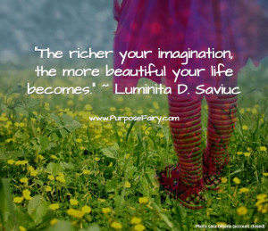 Steps to Creating Your Own Magical World >>> www.purposefairy.com ...