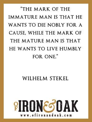 Wilhelm Stenkel Inspirational Quotes