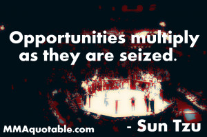 Sun Tzu Quote on Opportunies