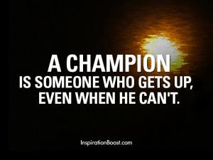 Champion Quotes