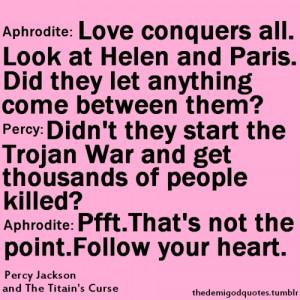 Percabeth Quotes Tumblr Picture