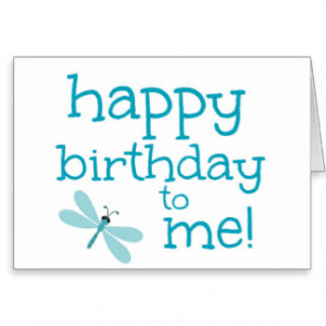 Happy Birthday Dragonfly Card