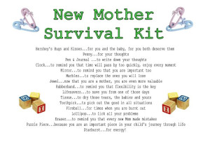 First Time Parent Survival Kit