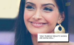 15 Sonam kapoor quotes that deserve a 15 Stupid Quotes From Sonam Kapo