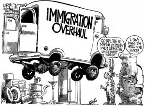 ... Obama pass another amnesty for immigrants, like President Reagan did