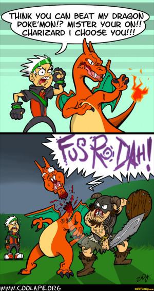 pokemon vs skyrim random