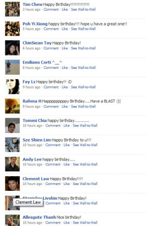 Facebook Birthday Quotes In Heaven