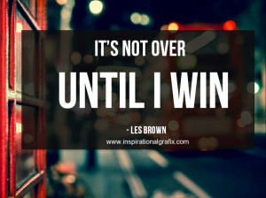 Les Brown Motivational Quotes