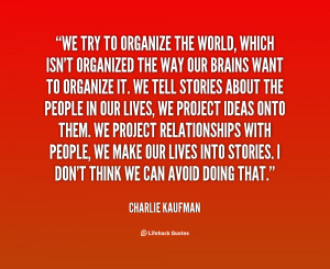 Quotes About Organized People