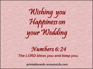 Religious Wedding Day Quotes