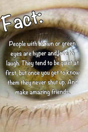 Twitter / EvergreenPosts: Fact : People with Brown or ...